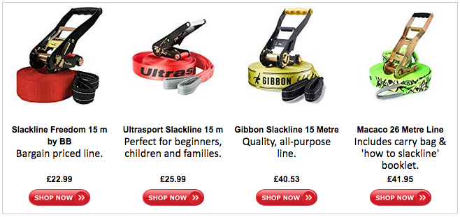 Click for Slackline Offers